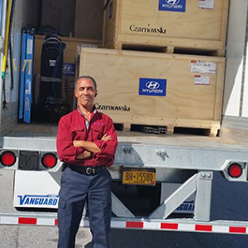 professional cargo loader